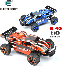 ET RC Car Hobby Buggy Toys 1/18 2.4G 4CH 4WD  Rock Crawlers Double Motors Drive Model Off-Road RC Vehicles Toys Kids Gift
