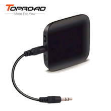 TOPROAD Bluetooth Transmitter Mini Powerful Portable Wireless Stereo 2 in 1 Audio Music Adapter for Tablet TV PC iPod MP3