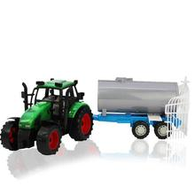 BOHS Large Size Simulation Farmer Sprinkler Truck With Wagon Children's Toy, 38cm(China)