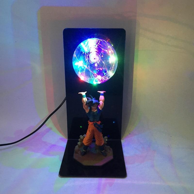 Dragon Ball Z Action Figure Son Goku Fighting Creativity Glowing Flash Ball DIY Display Toy Super Saiyan 2018 Newest (8)