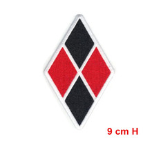 Batman Dark Knight Harley Quinn Diamond Official DC comics Embroidered patch iron on or sew on applique(China)