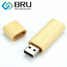 2GB USB Flash Drive for Gift Customization Environmental Wooden Pendrive Bamboo Memory disk OEM Laser-Engraved and Print Logo