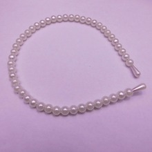 nt30 Fashion pearl Barrette hair bands accessories head jewelry wholesale! freeshipping(China)