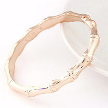 Hot Sell Luxury Brand Bamboo Bangle Irregular Joint Bangle,bone bangle Birthday Gift