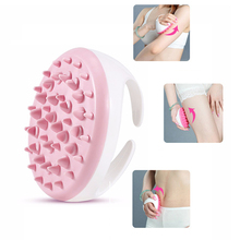 Soft Anti Cellulite Body Massager Brush Glove Slimming Relaxing Scrub Massage Bath Spa Color Randomly(China)