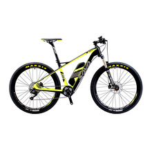 "SAVA Electric Bicycle Carbon Fiber e-bike 27.5"" Mountain MTB Pedelec Bike w/Shimano M8000 XT 11S and 14Ah SAMSUNG Li-ion Battery(China)"