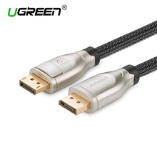 Ugreen 4K 1.2 Display Port DP Male To DisplayPort dp Male Gold-Plated DP Cable 2M 3M 5M for PC Monitor Projector Laptop