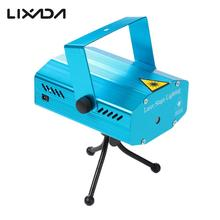 NEW LED Laser Projector Stage Lighting Effect Laser Light Dj Equipment Voice-activated DJ Disco Xmas Party Club Light AC110-240V(China)