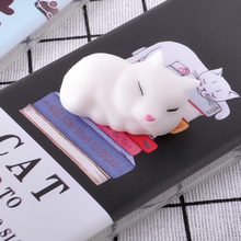 For HTC One M7 801E Case Squishy Finger Pinch 3D Cute Cat Seal Silicone Phone Cover Shell Coque For HTC One ME/M9ew/M9e/M9ET