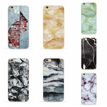 "New Space Surface Brick Marble Capa Cover For iPhone 6S Plus Soft TPU Phone Cases Fundas For iPhone 6SPlus 6Plus 5.5"" Free Ship"