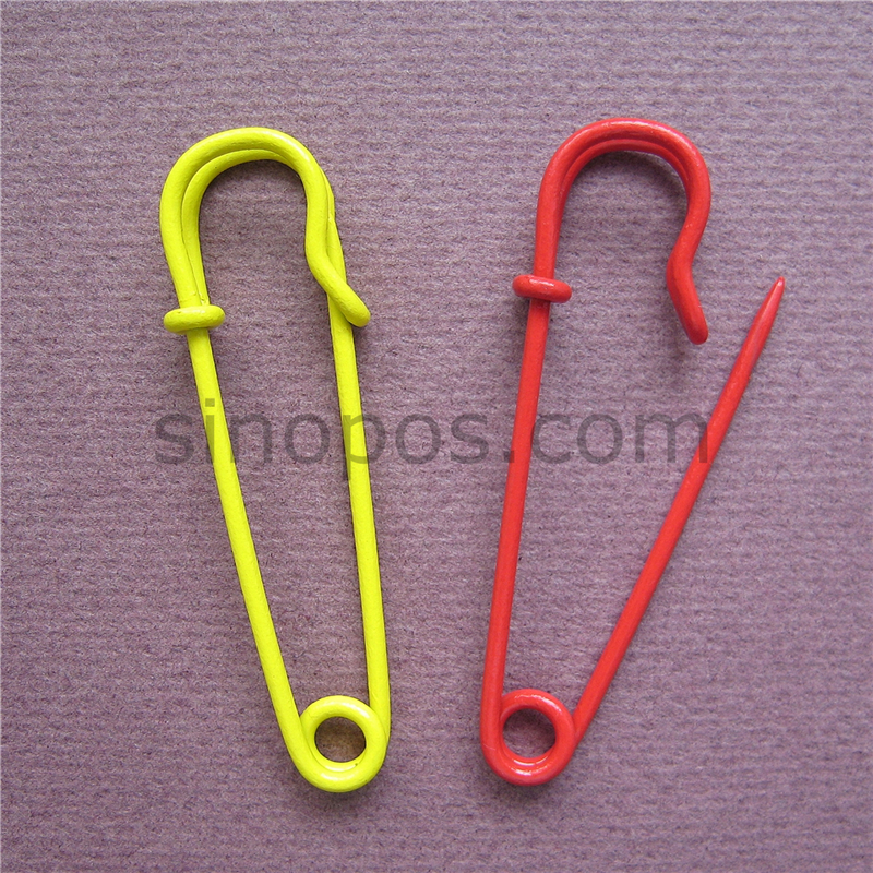 5pcs Simple Strong Metal Kilt Scarf Sweater Cardigan Brooch Pin Connector Safety