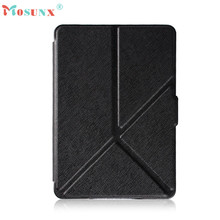Hot-sale Foldable Magnetic Auto Sleep PU Leather Cover Case Touch pen For Amazon Kindle Paperwhite 2016 (7th Generation) 6 inch