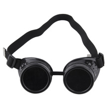 2017 Unisex Retro Sunglasses Cyber Goggles Steampunk Goggles Welding Punk Gothic Glasses Cosplay Vintage Victorian 4 Colors