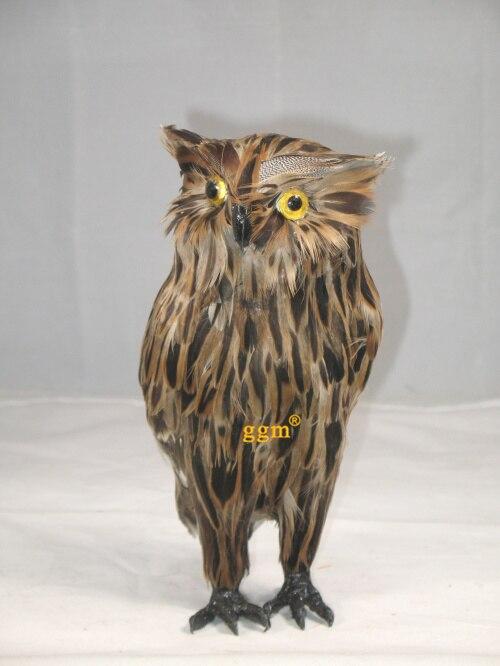 about 23x10x13cm simulation night owl Handmade model,polyethylene&amp; furs toy home decoration gift w4030<br><br>Aliexpress