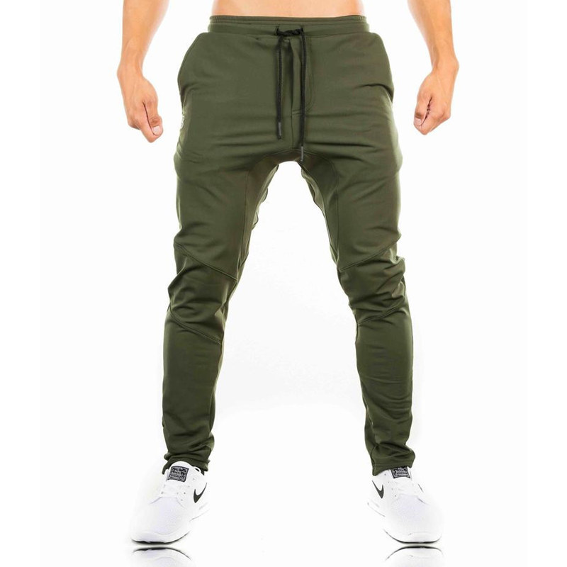 2018-Autumn-new-mens-cotton-Sweatpants-gyms-Fitness-workout-solid-trousers-male-Casual-fashion-Pencil-Pants (1)