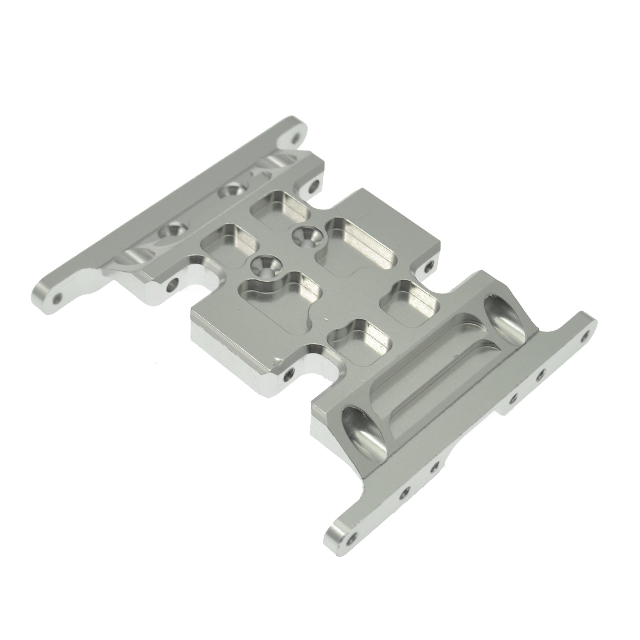 Aluminum Alloy Metall Geschwindigkeit-Center Skid Plate Für 1:10 RC Axial SCX10