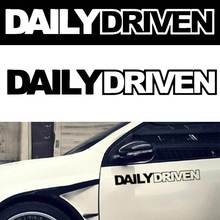 JDM Car Sticker Daily Driven Mugen Euro Spoon Stance Illest Drift Vinyl Decals Truck AUTO Window Bumper  DXY88