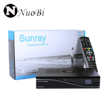 3pc DHL Free Shipping Sunray SR4 V2 Satellite Receiver with 3 in 1 Triple Tuner with SIM2.20 300Mbps Wifi Build In Sunray SR4 V2