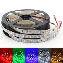 Flexible LED Strip light 5730 5630 SMD DC 12V 5M 300 led flexible bar light high brightness indoor home decor 3M tape lamp