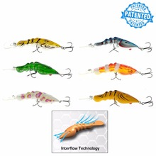 Predator Labs GM SHRIMP Series Minnow Popper pencil lures InterFlow Maximised Turbulence System Bass Fishing Lures(China)
