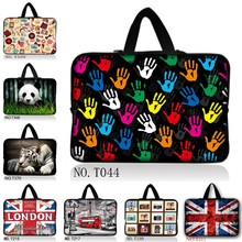 "14"" Notebook Laptop Bag Sleeve Case With Hide Handle For Apple Sony Dell HP PC"