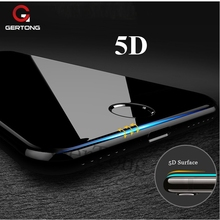 Buy 5D Full Cover Screen Protector Tempered Glass iPhone 7 8 X 6 S 6S Plus Protection Film Glass iPhone 7 Curve Edge for $2.47 in AliExpress store