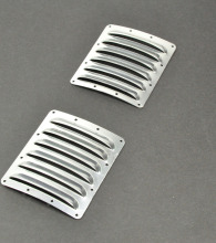 2PC Cooling fin vents for airplane cowl 73mm*62mm*0.5mm(China)