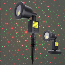 Dynamic Star Projector Laser Light Laser Spotlight Light Shower Landscape Park Garden Lights Christmas Party Decorations(China)