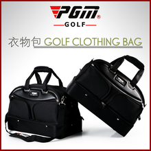 PGM famous brand high quality shoes clothing bags for men nylon sport golf title bags golf accessories cart travel bag(China)