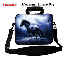 Viviration Universal Tablet Cover 10.1 10.2 9.7 10 Sleeve Shoulder Strap Bag For Huawei Asus HP Laptop Case 12 13 14 15 17 Pouch(China)