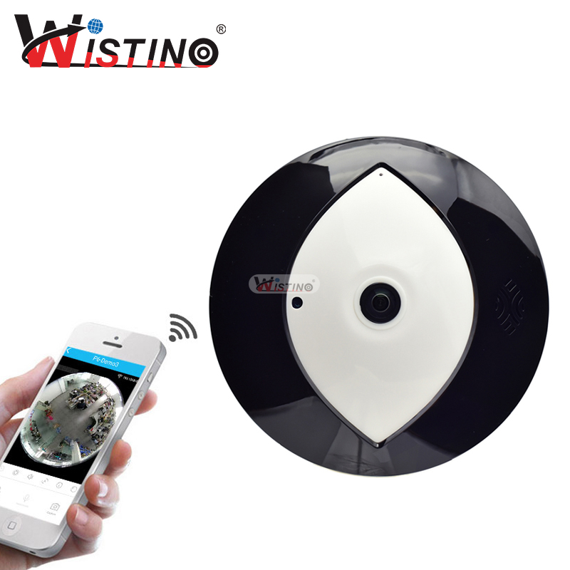 Wistino 960P Wireless IP Camera 3D VR WIFI Baby Monitor 360 Degree  Fisheye Mini Monitor CCTV Security Video Camera Surveillance<br>