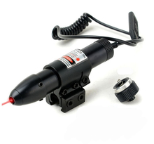 Free Shipping 5mW Tactical Adjustable Red Laser Sight, 650nm Red Laser Designator With Dual Mount, Hunting Rifle Laser Sight.