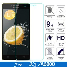 For Lenovo Lemon A6000 6010 Tempered glass Screen protector For Lenovo K3 K30 K30-W A6000-l A 6000 Plus A6010 Protective Film