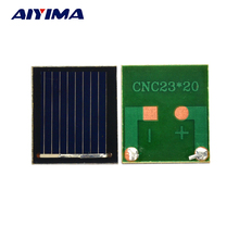 Aiyima 20pcs 0.5V 80MA polycrystalline silicon solar cell panel DIY technology Small production material