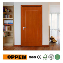 OPPEIN Wholesale Modern Wood Grain PVC Hinged Door P602(China)