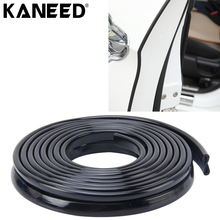 KANEED Car Seal Strip Rubber Car Moulding Trim Strip Car Door Scratch Protector Decoration Chrome Moulding Trim Styling Strip(China)