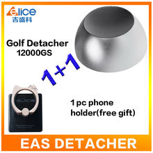 US Stock To USA Superlock Golf Detacher Magnetic Security Hard Tag Remover Practical Detacher Eas Detacher 12000GS+ 1pc gift(China)
