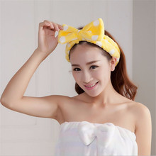Spa Bath Shower Make Up Wash Face Cosmetic Headband Hair Band Velvet Headband