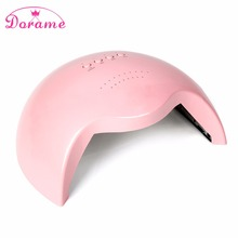 Dorame SUN Solar One 24W/48W Nail Lamp UV Nail Dryer Lamps For Nails Time Function for Gel Polish Curing Led Lamp Nail Art Tools(China)
