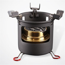 POINT BREAK Solid liquid alcohol stove outdoor wind gas stoves in the wild Camping stove(China)