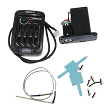 Little angel GS - 1 folk guitar pickups Uhf four EQ regulating box pickup opening  Free shipping