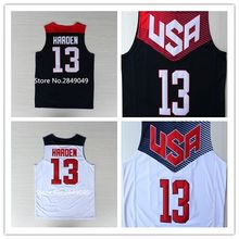 #13 James Harden 2014 Dream Team USA Basketball Jersey Stitched All Size any Number and name(China)