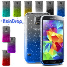 Discount ! 3D waterdrop TPU Soft Gel Raindrop Case For Samsung Galaxy S5 mini SM-G800 Back Cover Phone case