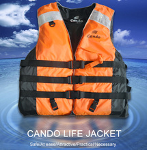 Professional Life Vest Life Jacket for Adult Safety Fishing Rafting Swimming Water Outdoor Survival Swimwear Free Shipping(China)