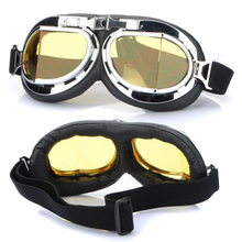 Hot Sale Steampunk Gothic Goggles Flying Scooter Helmet Glasses Cool Steampunk Goggles Glasses Cosplay Welding(China)