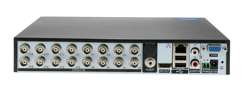 2MP Surveillance Camera Xmeye Hi3531A 16CH 16 Channel 5 in 1 Coaxial 1080P WIFI Hybrid NVR CVI TVI AHD CCTV DVR picture 02