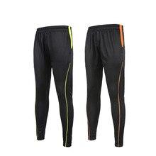 Mens Sport Trousers Training Football Pants 2016 2017 Polyester Skinny Soccer Joggers Running Bottom pantaloni portiere calcio