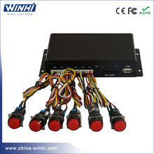 2017 high quality exhibition 1920 * 1080P full hd digital signage box media player with hdmi optical coaxial