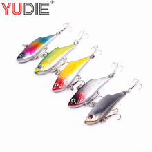 1pcs 6cm 10g Deep Water VIB Hard Lure For Sea Carp Fly Fishing Spinner Bait Accessories Jig Hooks Tool Wobblers Fish Sport lures(China)