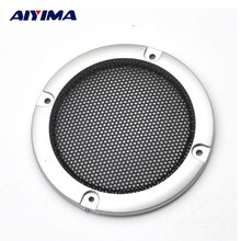 AIYIMA 2pcs 3inch DIY Loudspeakers Protective Cover Nets Speaker Decorative Circle Sound Box Protective Grille(China)